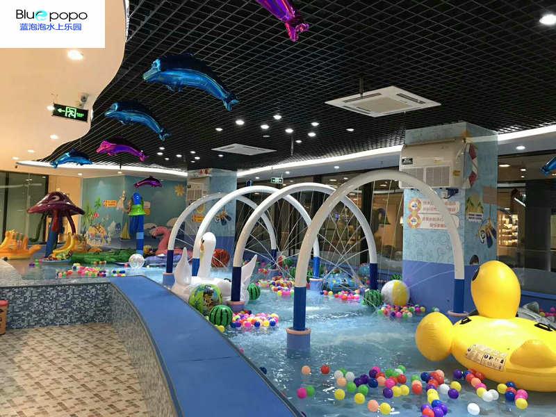 蓝泡泡室内儿童水上乐园